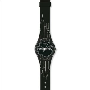 Swatch Lines In The Sky Quartz Watch
